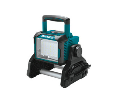 Makita DML811 Lxt Cordless/Corded Work Light Only, 120 Vac, 31.5 W, Lxt Lithium-Ion Battery, 30-Lamp, Led Lamp