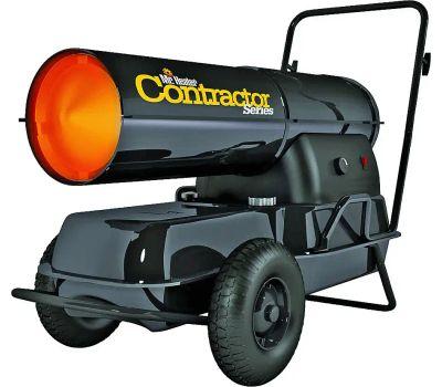 Mr Heater F270320 Forced Air Heater, 8.5 Gal Fuel Tank, Kerosene, 125000 Btu, 3125 Sq-Ft Heating Area