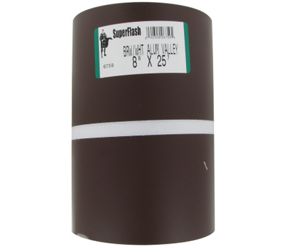 Billy Penn 6759 White And Brown Aluminum Handy Roll 8 Inch By 25 Foot