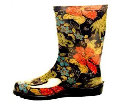 Principle Plastics 5002BK08 Sloggers 5002bk-08 Rain and Garden Boots, 8 in, Black
