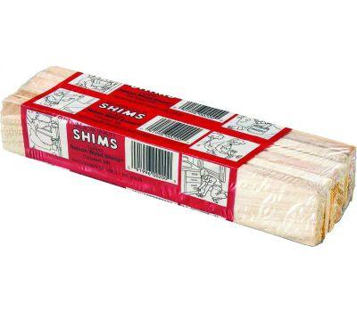 Nelson Wood Shims PSH8/12/36/65 12 Pack 8 Inch Wood Shim