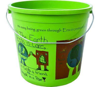Encore 300773 Ecosmart 10 Quart Recycled Plastic Paint Pail