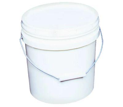 Encore 20256 2 Gallon White Plastic Paint Pail
