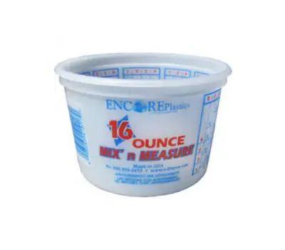 Encore 300352 Container Mix Plastic 16 Ounce