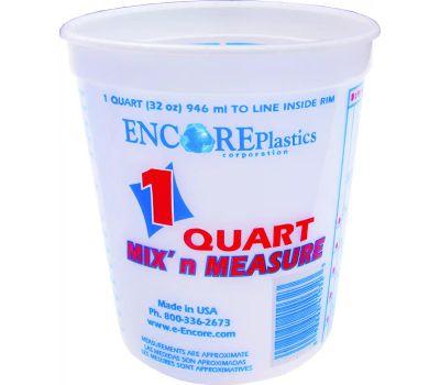 Encore 300343 Mix n Measure 1 Quart Calibrated Mixing Container No Lid