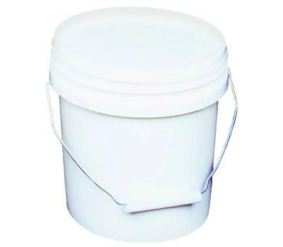 Encore 10128 1 Gallon White Plastic Paint Pails