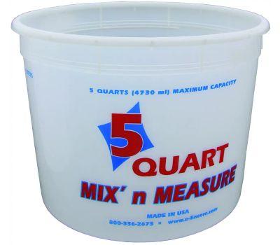 Encore 300403 Mix n Measure 5 Quart Calibrated Mixing Container No Lid
