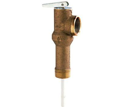 Watts Water 3/4 LL100XL-DP-150/210 T&P Valve 2 Inch Long Shank