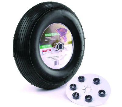 Martin Wheel 406TTRIB32 Wheel Whlbrw Pneu Uni 13in 5/8
