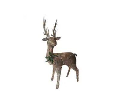 Santas Forest 17408 Pre-Lit Buck, Led Bulb