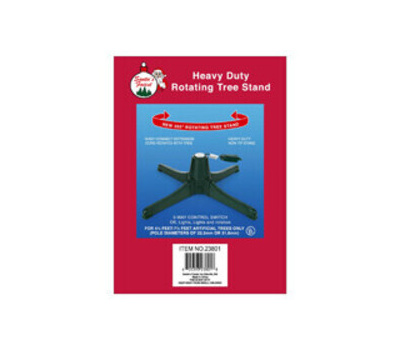 Santas Forest 23801 Stand Tree Rotating, 26 in Dia, 26 in L, 26 in W