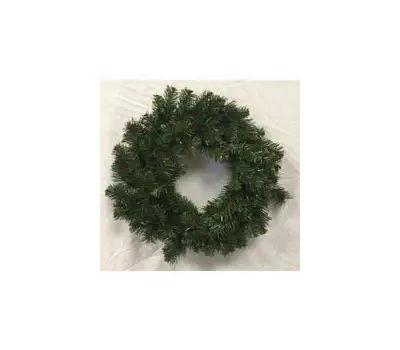 Santas Forest 61028 Sheared Noble Fir Wreath 24In