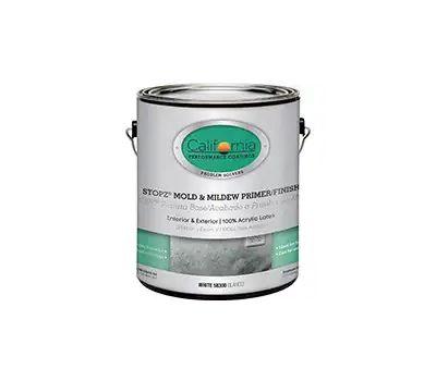 Fixall 58300-1 Stopz White Mold & Mildew Eliminator Interior Exterior Primer Gallon Water Based