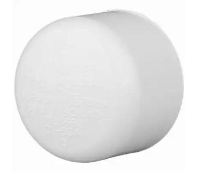 Charlotte Pipe 30157 3/4 Inch White PVC Slip Cap