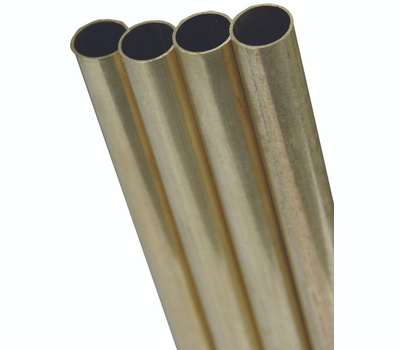 K&S Engineering 8128 5/32 Od Round Brass Tube