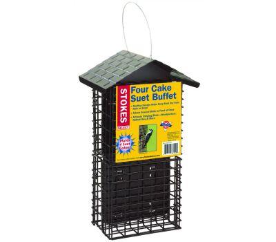 Classic Brands 38129 Stokes Suet Buffet Bird Feeder, Solid Steel, 12.3 in H
