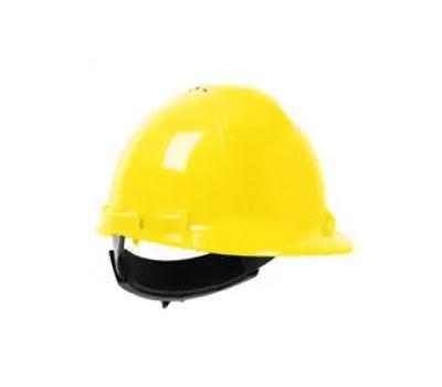 Safety Works 280-HP241RV-02 V-Gard Hat Hard Yellow Vented V-Gard