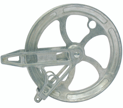 Ben Mor CY78800 Strata Clothesline Pulley, 8 in Od, Metal