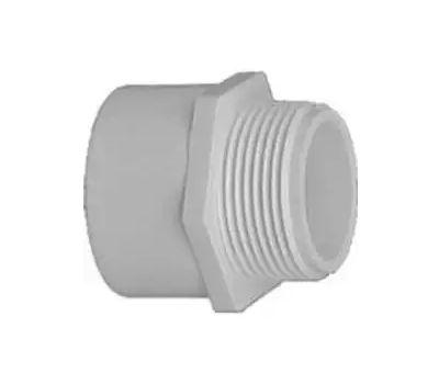 Lasco Fittings 30410 1 Inch PVC Male Adapter Slip X FIP
