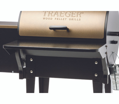 Traeger BAC361 Front Shelf, Folding, Steel, Powder-Coated, for: Tailgater, 20 Series and Renegade Models