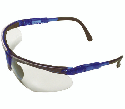 Safety Works 10041055 Safety Glasses, Anti-Fog, Anti-Scratch Lens, Polycarbonate Lens, Semi-Rimless Frame