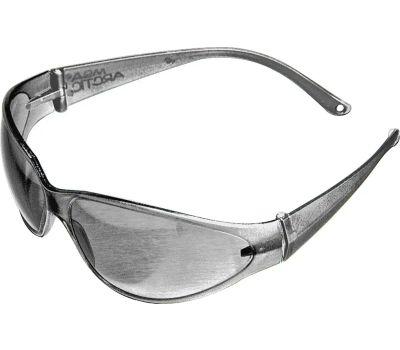 Safety Works 697514 Safety Glasses, Anti-Scratch Lens, Polycarbonate Lens, Frameless Frame