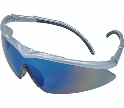 Safety Works 10083078 Blue/Silver Adjustable Safety Glasses Style 1150