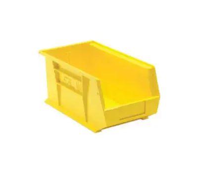 Quantum Storage RQUS240YL Bin Storage Yellow 3-Large 3 Pack
