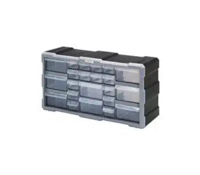 Quantum Storage PDC-22BK Cabinet Stor W/22 Dwr Medium