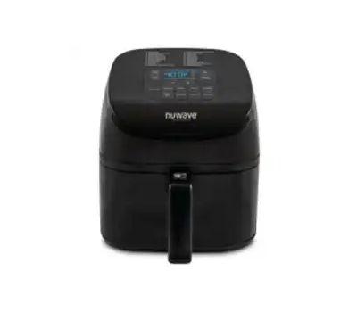Nuwave 36121 Brio Air Fryer, 4.5 Qt Capacity, 600/900/1500 W, Digital Control