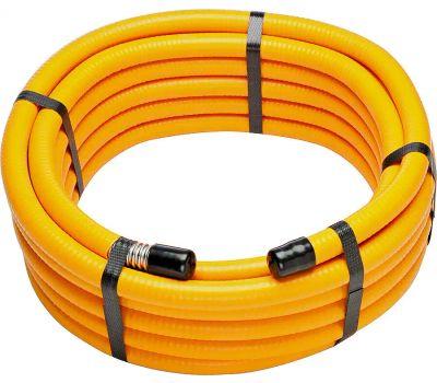 Pro Flex PFCT-34225 Flexible Hose, 3/4 in, Stainless Steel, Yellow, 225 Ft L
