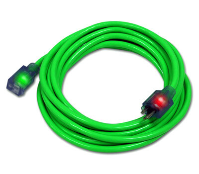 Century Wire D17444025 25 Foot 12/3 Grn Ext Cord