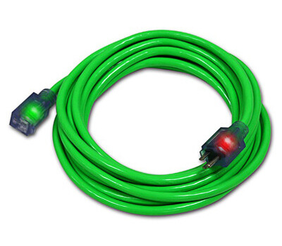 Century Wire D17444100 100 Foot 12/3 Grn Ext Cord
