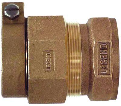Legend Valve 313-275NL T-4305nl Compression Coupler, 1 in, Compression X Fnpt, No-Lead Bronze, 100 Psi Pressure