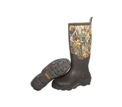 Muck Boot WDM-RTE-RTR-090 Woody Max Hunting Boots, 9, Brown/Realtree Edge Camo, Neoprene Upper