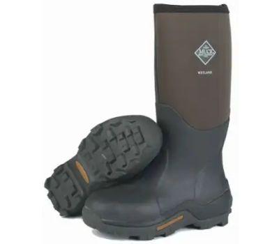 Muck Boot Company WET998K-9 Sz9/10 Brn Wetland Boot