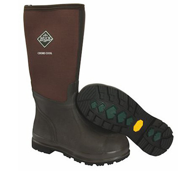 Muck Boot Company CHCT900-7 Sz7/8 Brn Chore Boots