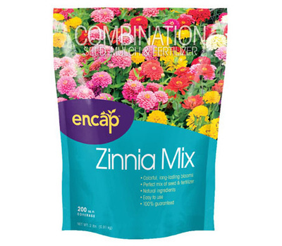 Encap 10806-6 200sqft Zinnia Mix