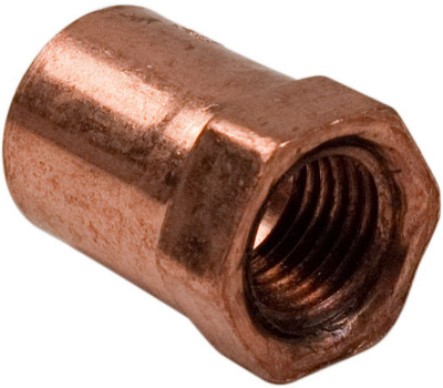 Elkhart 10130138 103r Series Reducing Adapter, 1/2 X 1/4 in, Sweat X Fip, Copper