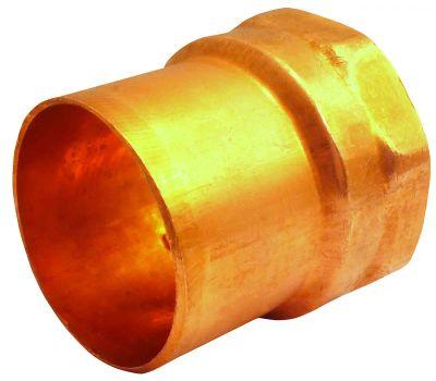 Elkhart 30236 103-2 Series Street Adapter, 1/2 in, Sweat X Fnpt, Copper