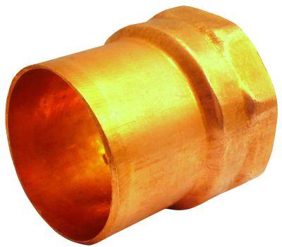Elkhart 30242 103-2 Series Street Adapter, 3/4 in, Sweat X Fnpt, Copper