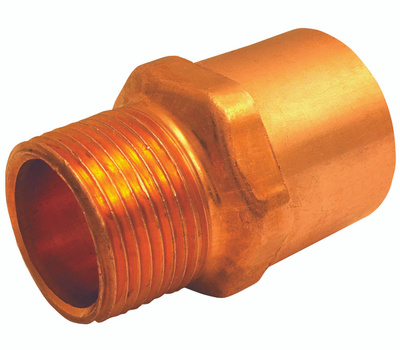 Elkhart 30316 1/2 Id By 3/4 Mipt Copper Adapter