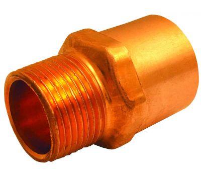 Elkhart 30338 3/4 By 1/2 Inch Copper Male Adapter