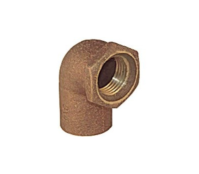 Elkhart 10156816 Lo-Lead 1/2 Inch C X F Copper 90 Degree Elbow