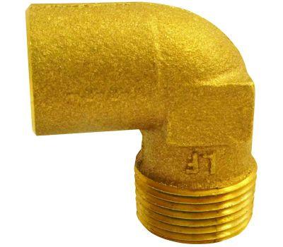 Elkhart 10156826 Lo-Lead 3/4 Inch C X M Copper 90 Degree Elbow