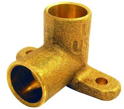 Elkhart 10156882 Lo-Lead 1/2 Inch C X C Copper 90 Degree Drop Ear Elbow
