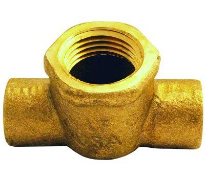 Elkhart 10156960 Tee Copper Cxcxf 1/2 in