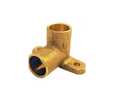 Elkhart 10159244/10156880 Lo-Lead 3/4 Inch C X C Copper 90 Degree Drop Ear Elbow
