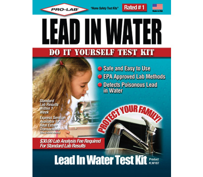 Professional Lab LW107 The Professional Lead In Water Test Kit