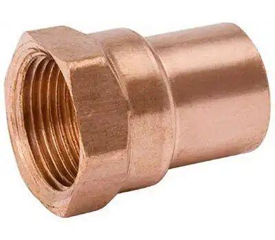 B&K Mueller W 61287 2 Inch Copper By Female Adapter